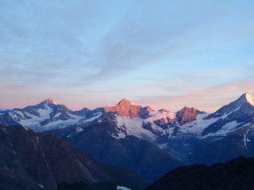 Walliser Alpen Weißhorn Ostgrat